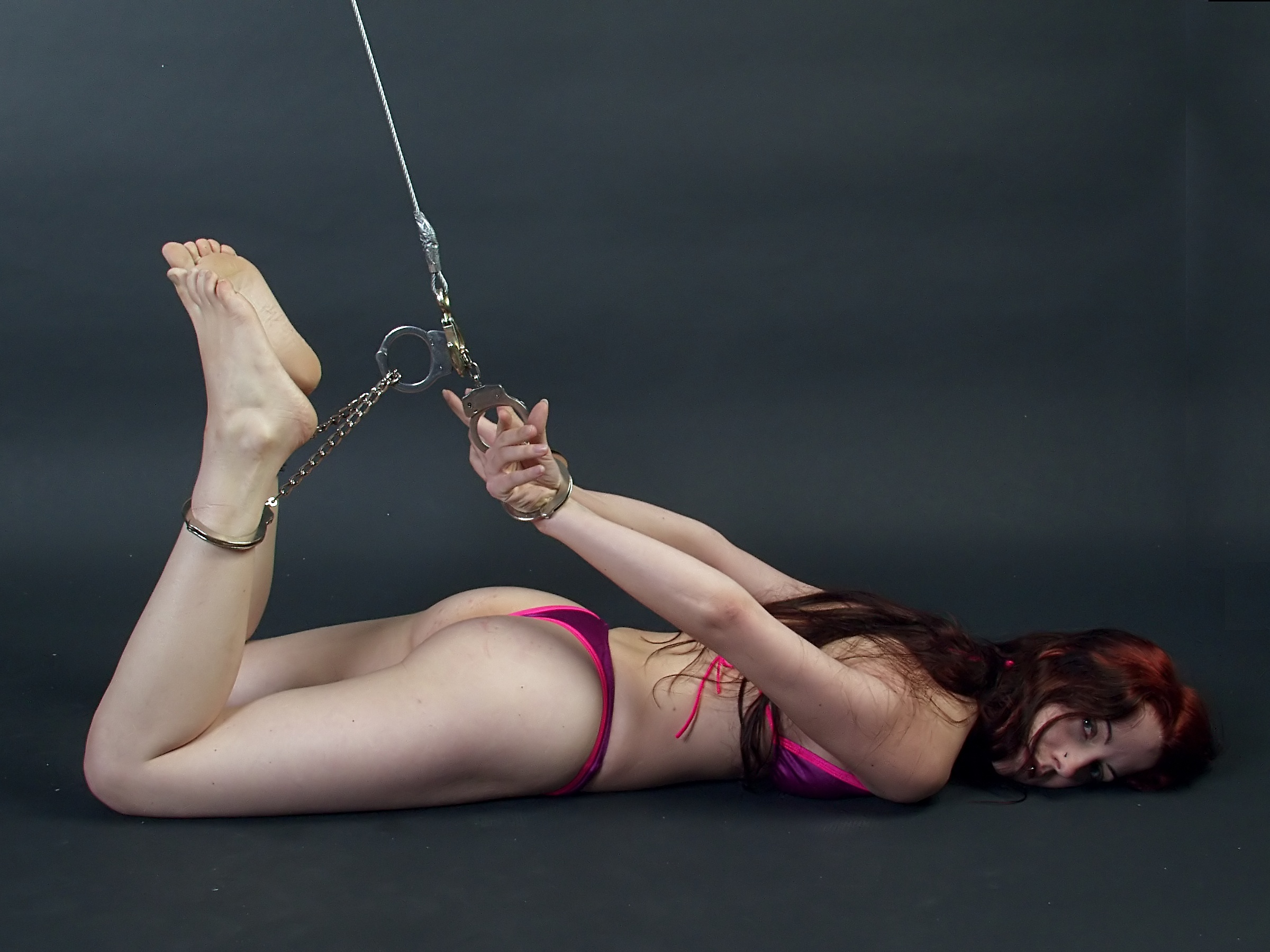 image Ballerina shibari selfbondage and suspension