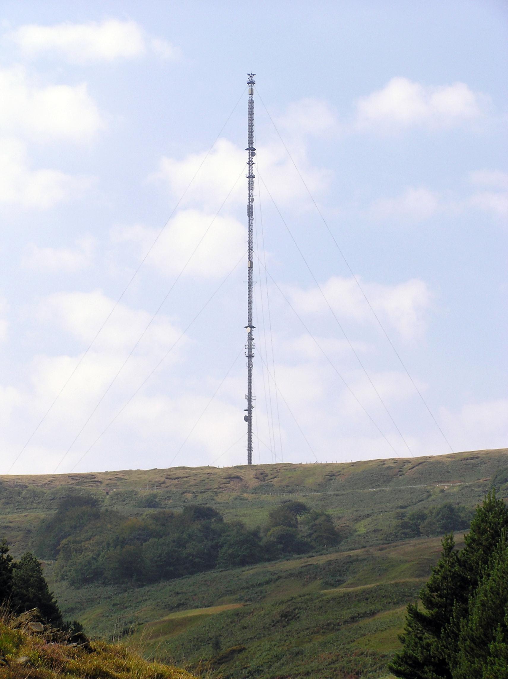 Holme Moss Transmitting Station Wikipedia Schematics Fm Transmitters Tv Stereo