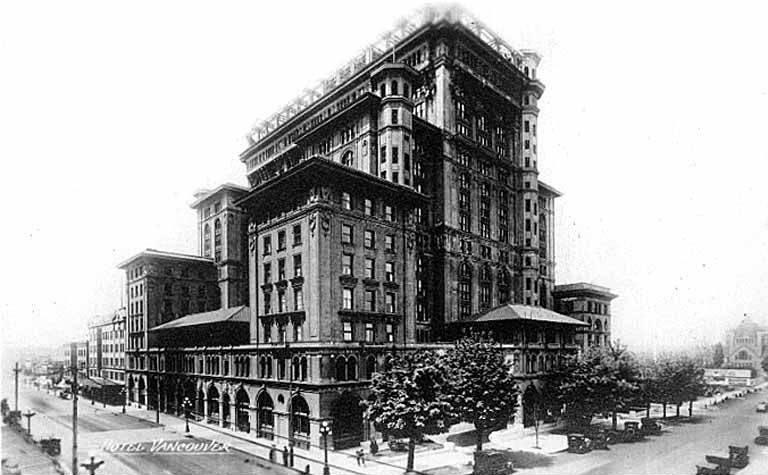 Hotel Vancouver 1916 Wikipedia