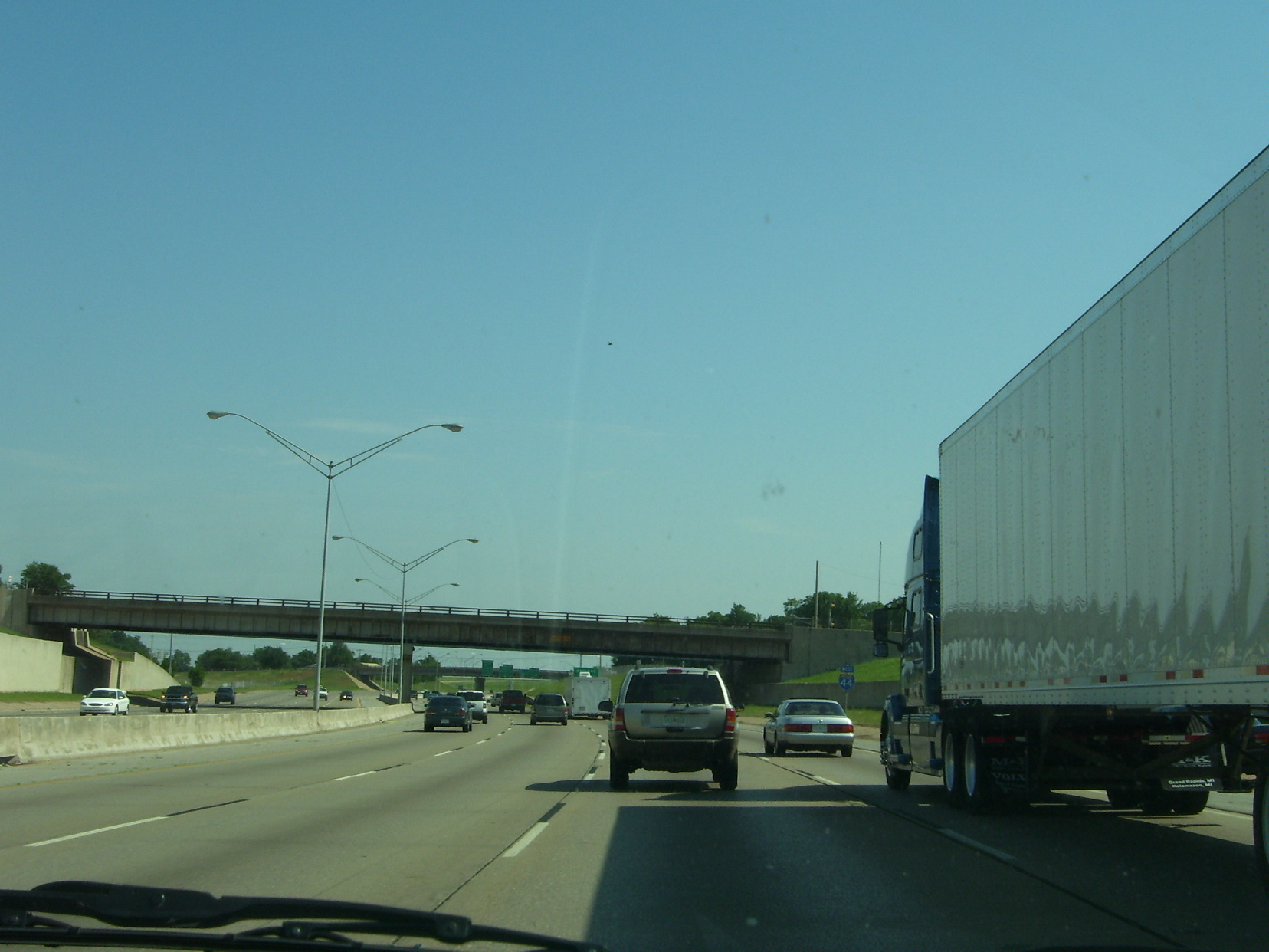 I-44 in Oklahoma City