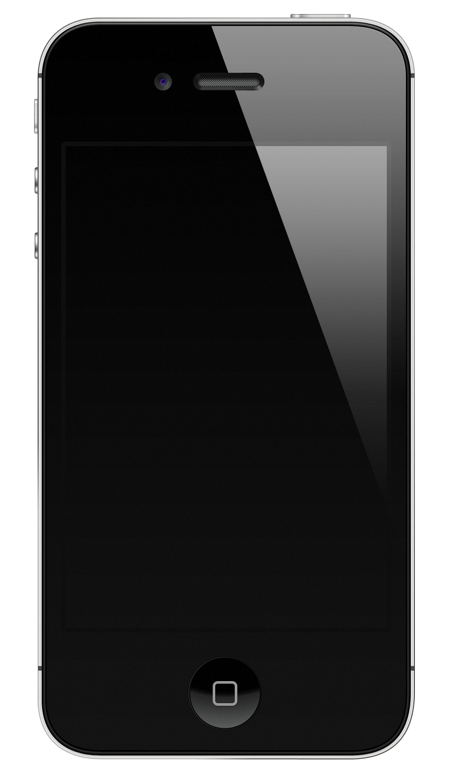 A black iPhone 4S.