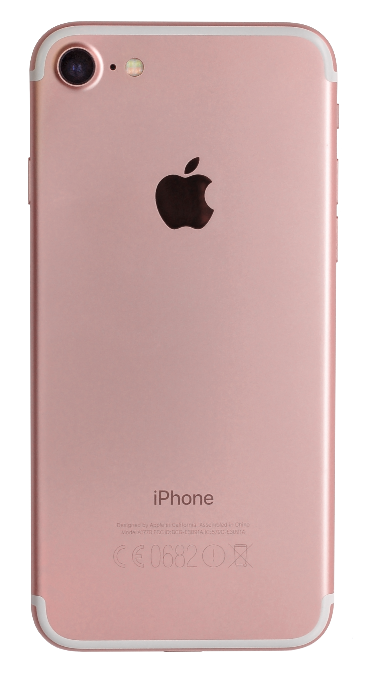 file iphone 7 a1778 rose gold back retouch. Black Bedroom Furniture Sets. Home Design Ideas