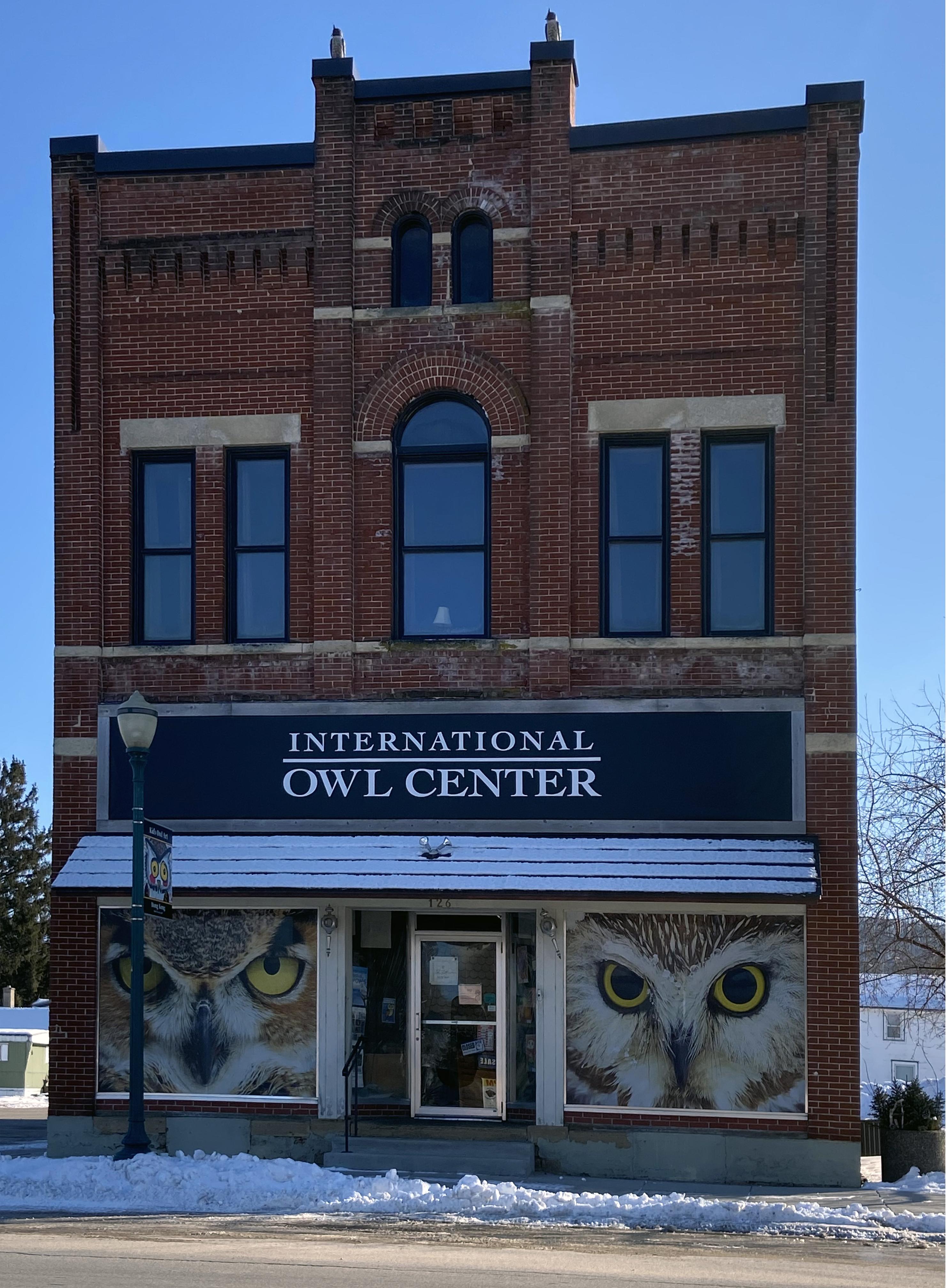 File International Owl Center 126 E Cedar St Houston Mn 55943 Jpg Wikimedia Commons