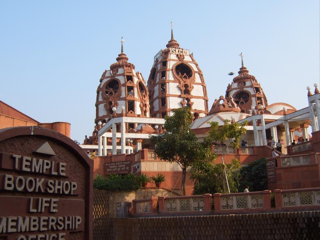 """""""Iskcon Delhi Temple"""""""