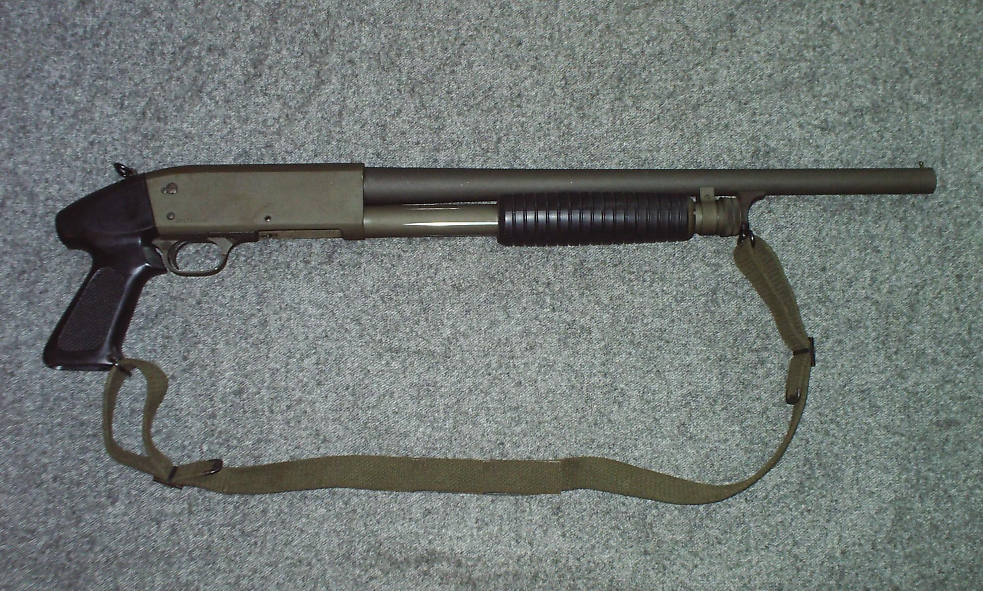 Ithaca 37 Military Wiki Fandom Powered By Wikia Marlin Model 1894 Parts Diagram Riot Version With A Pistol Grip