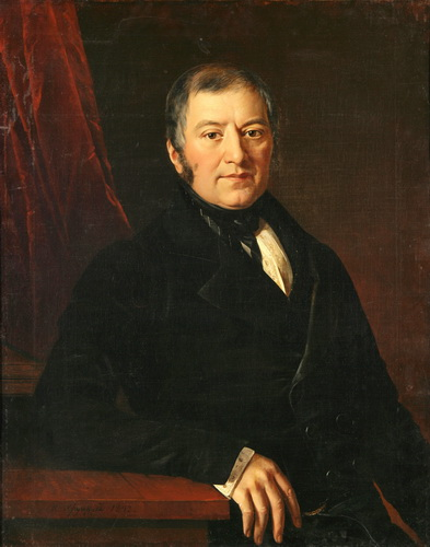 Aleksandr Konstantinovitch Glazounov - Page 3 Ivan_Khrutsky._Portrait_of_I._I._Glazunov._1843._The_Art_Museum_of_Belarus%2C_Minsk.
