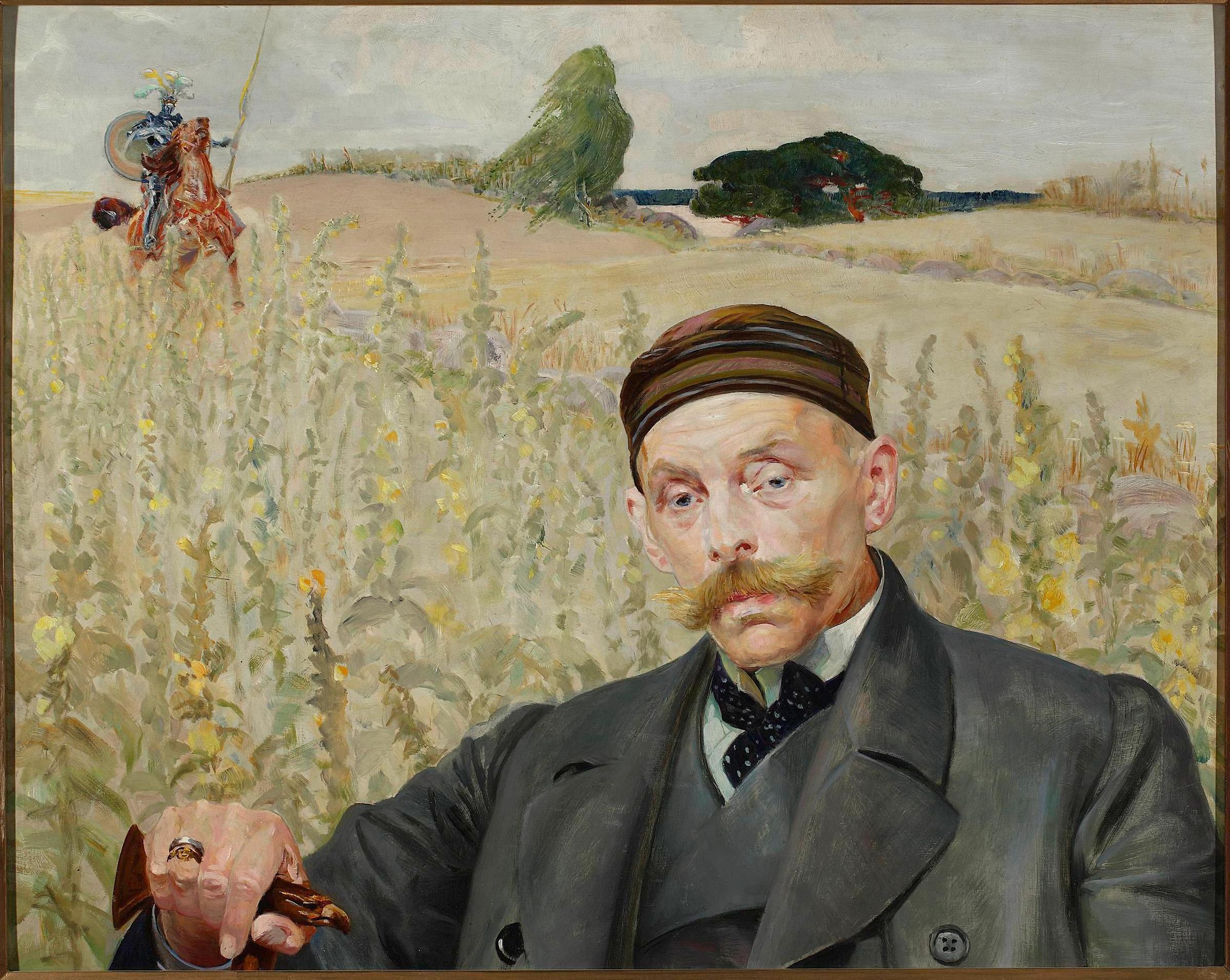 image: Jacek Malczewski - Portret Wacława Karczewskiego