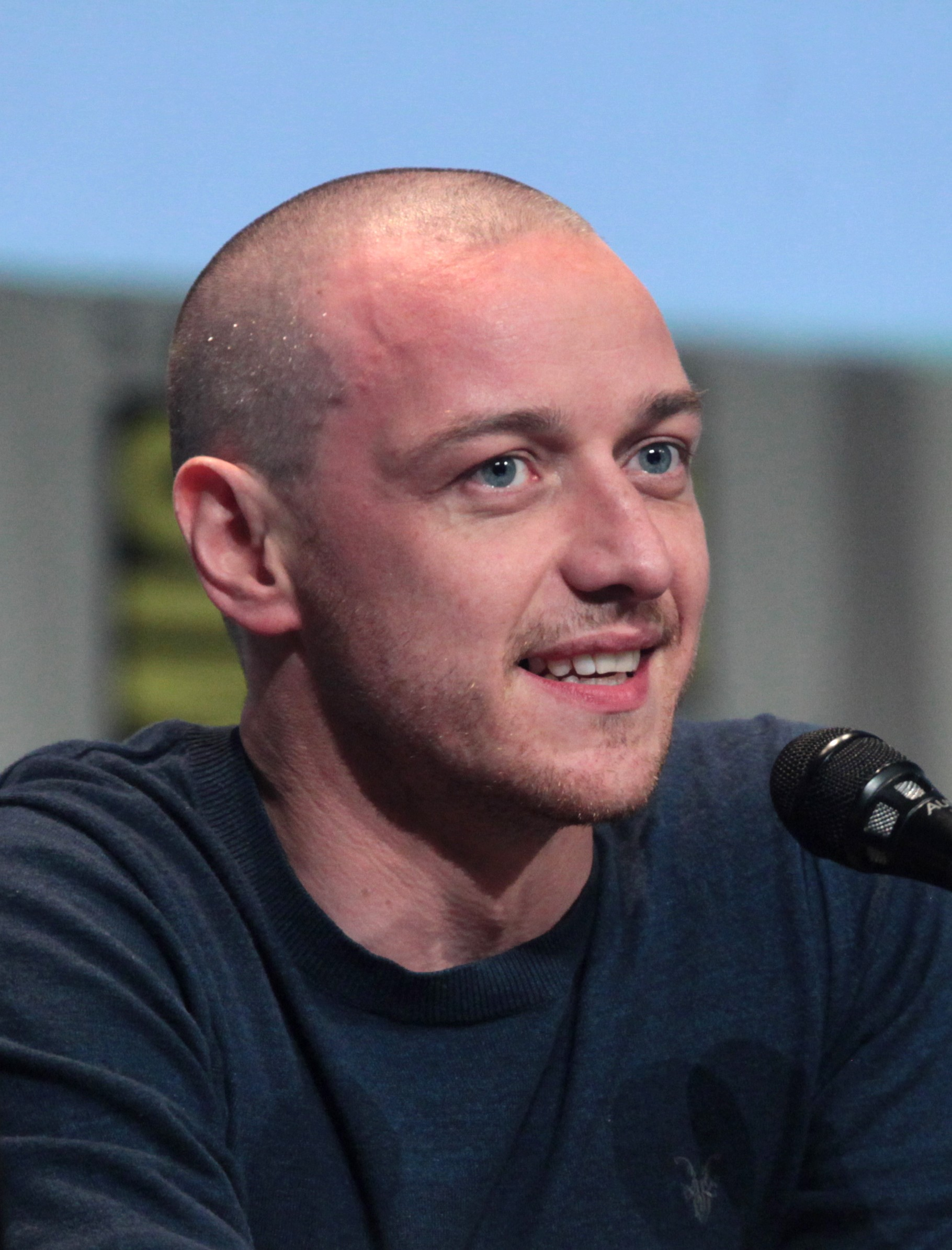 McAvoy at the 2015 [[San Diego Comic-Con]]