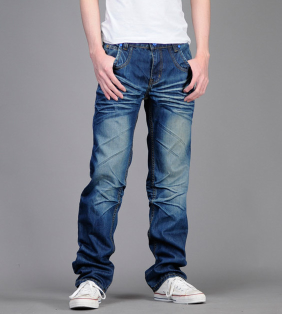 Mens Acid Washed Jeans