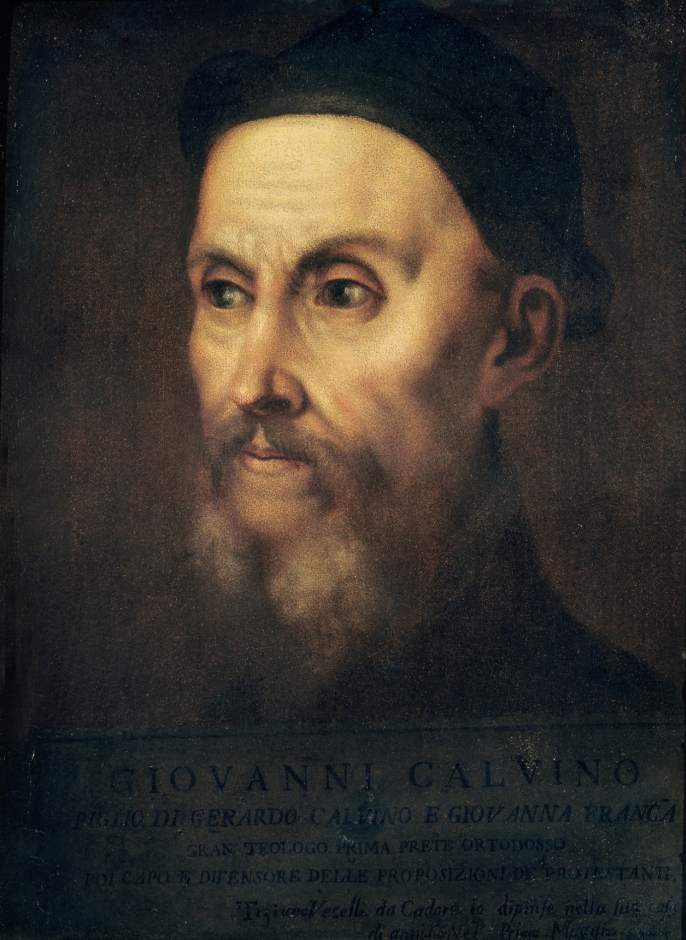 Image result for john calvin titian