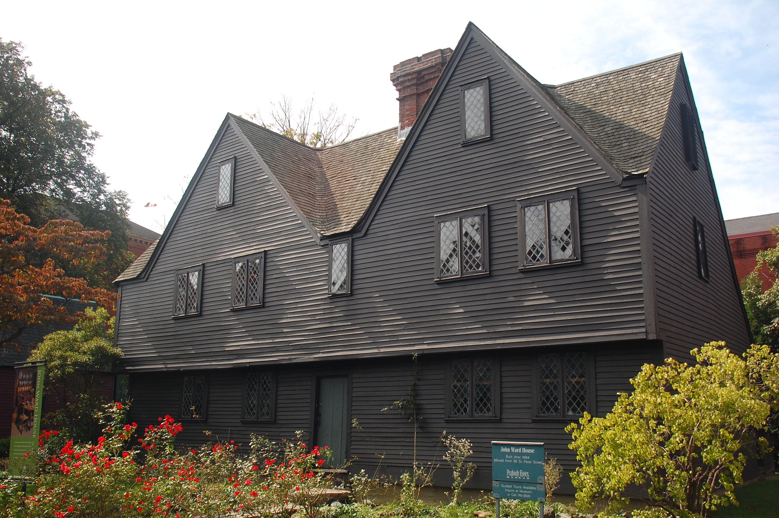 John ward house salem massachusetts for Salem house