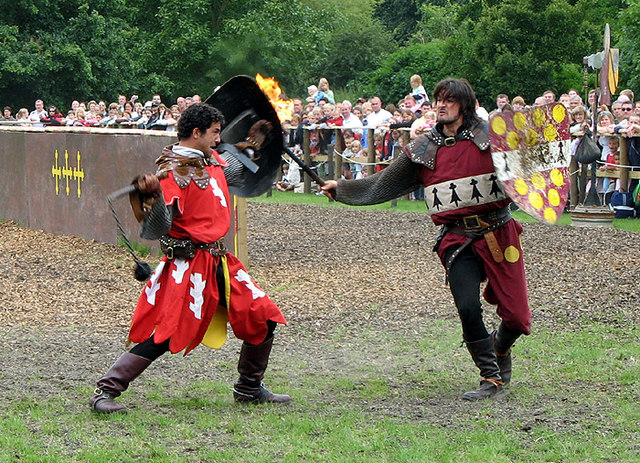 File:Jousting_at_Warwick_Castle_ _geograph.org.uk_ _562440 on Castle Layout