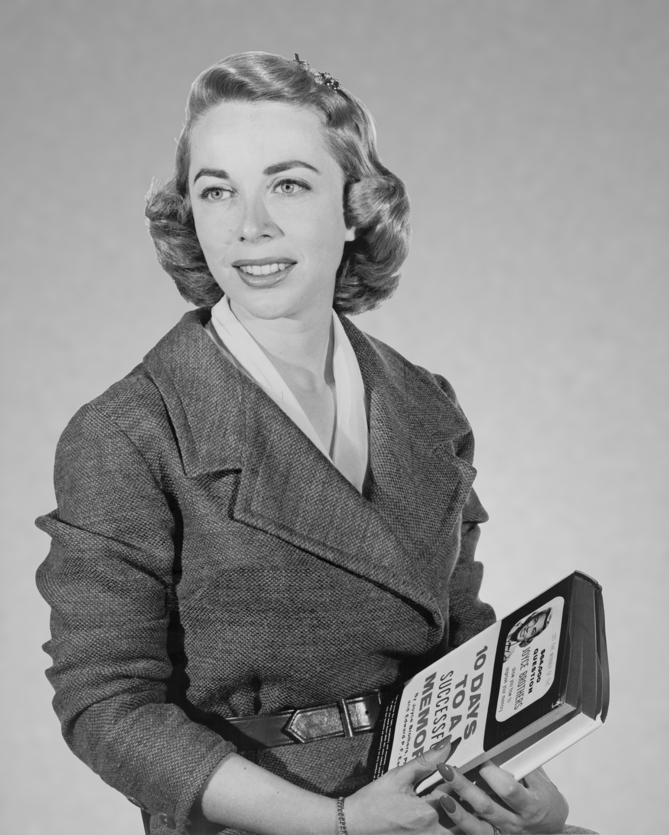 Portrait of Joyce Brothers