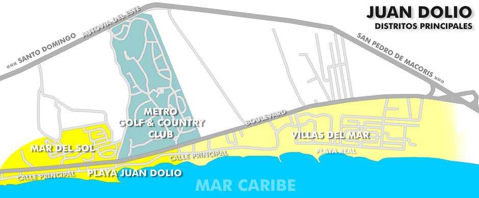 Juan Dolio Map File:juan Dolio Map 1.jpg