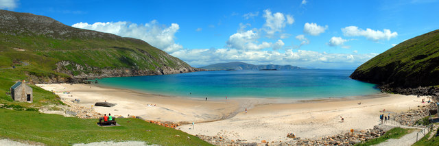 Achill Island Beach Before And After
