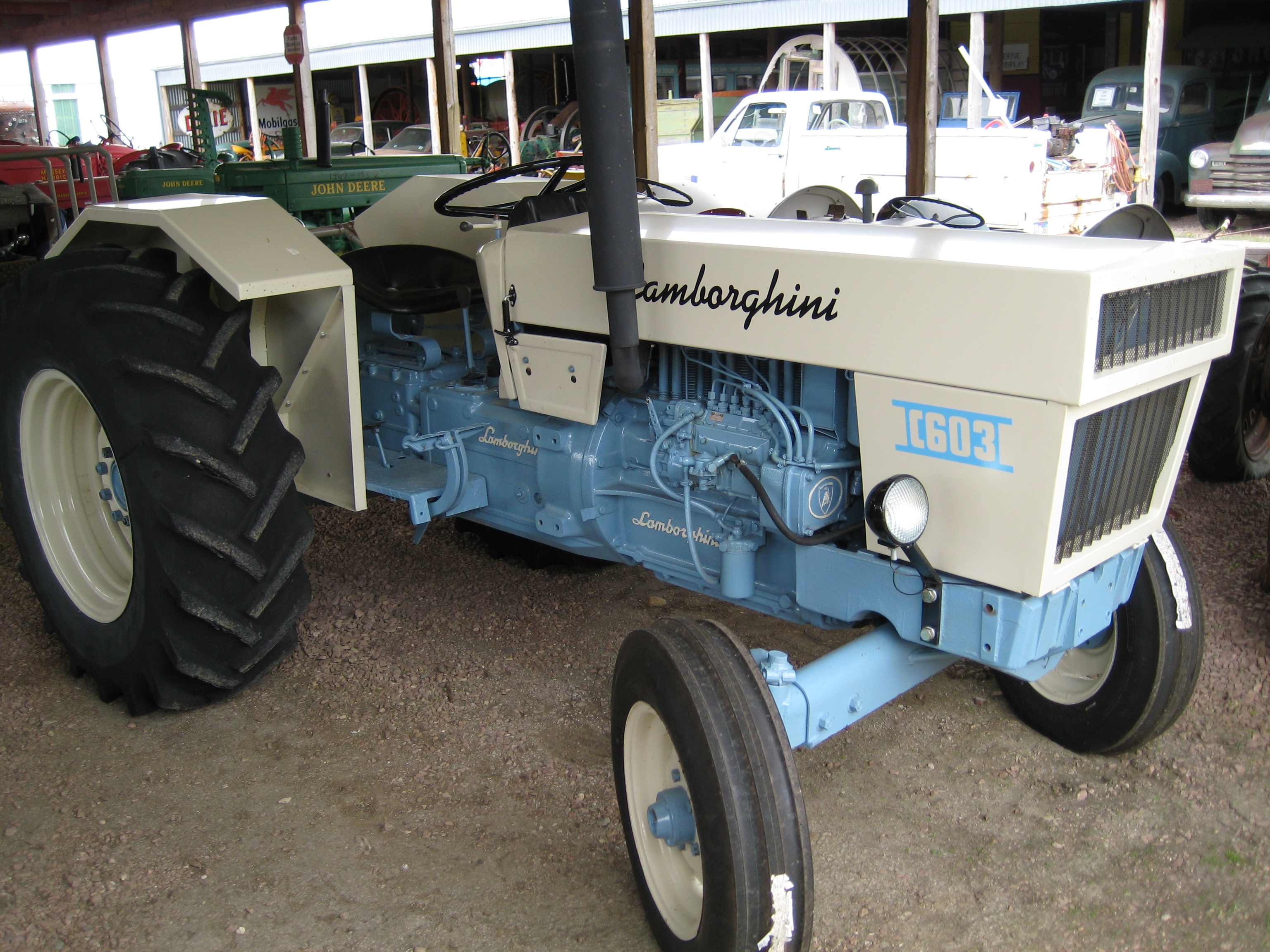 Group Of Lamborghini Tractor With