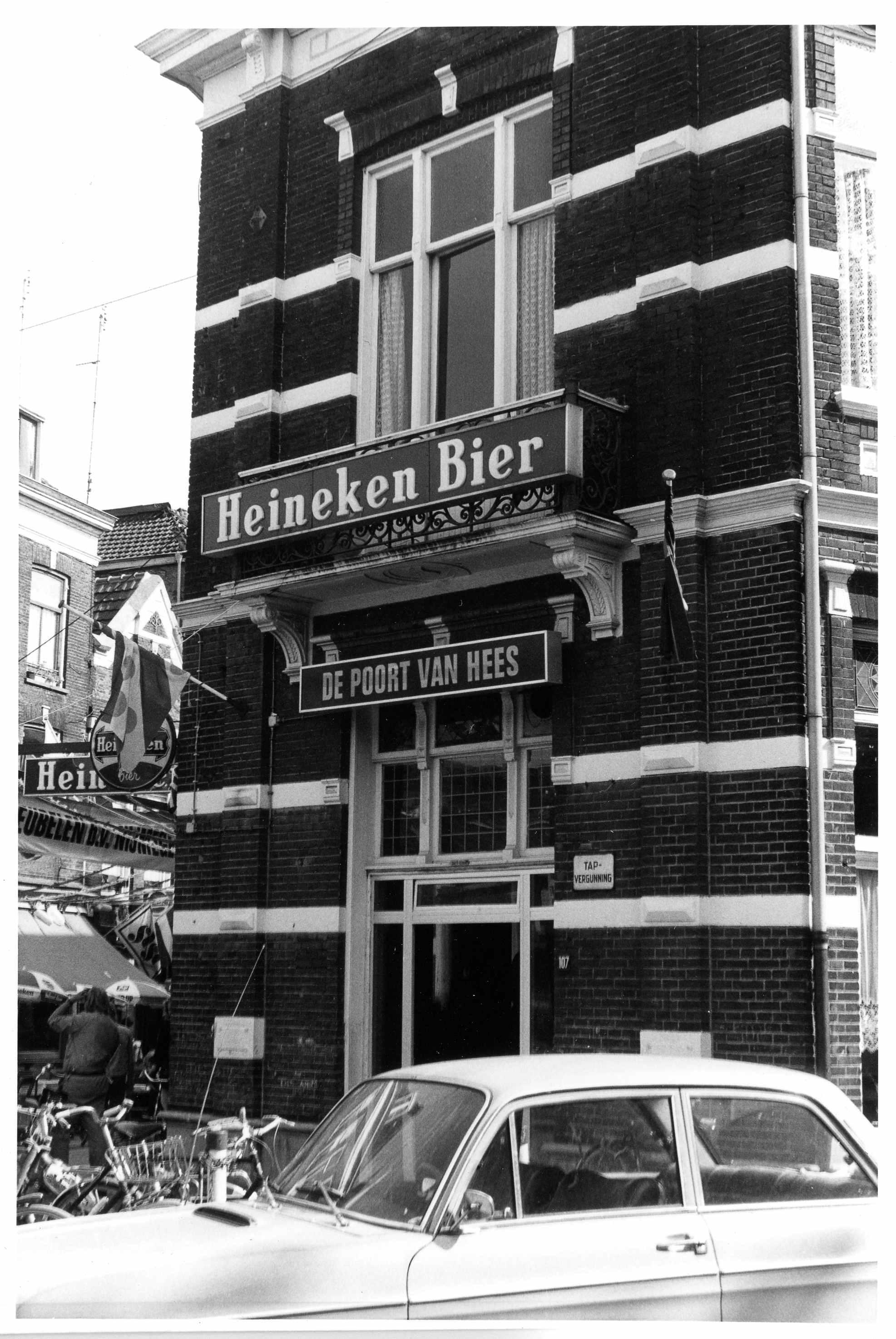 File lange hezelstraat 107 ingang en balkon van cafe de for Cafe de poort utrecht