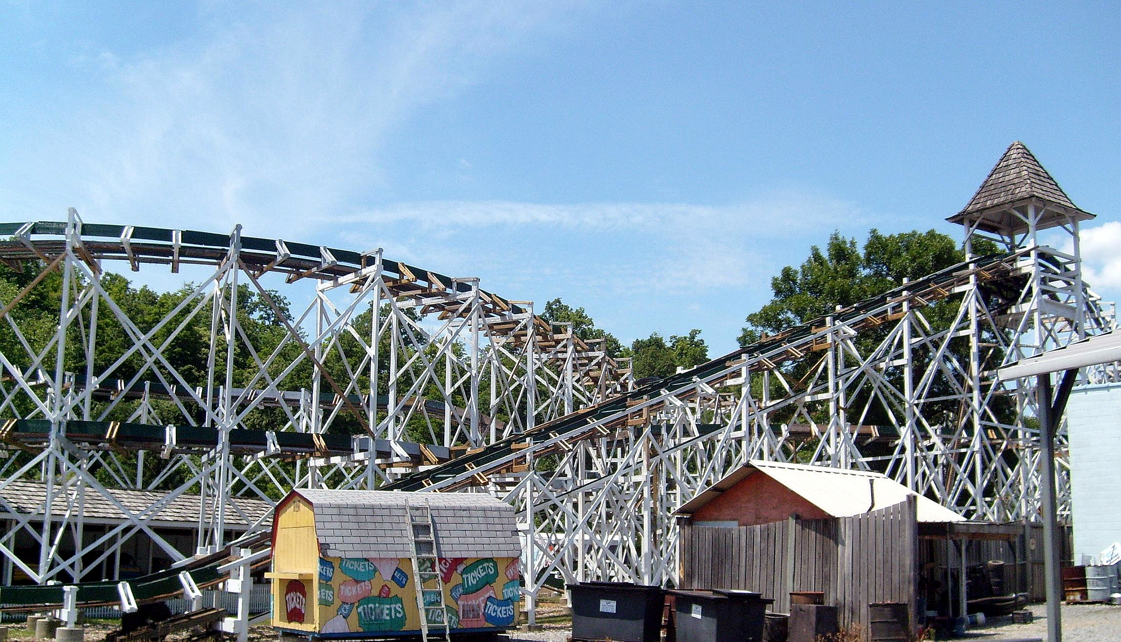 World Oldest Roller Coaster to be SBNO another year.