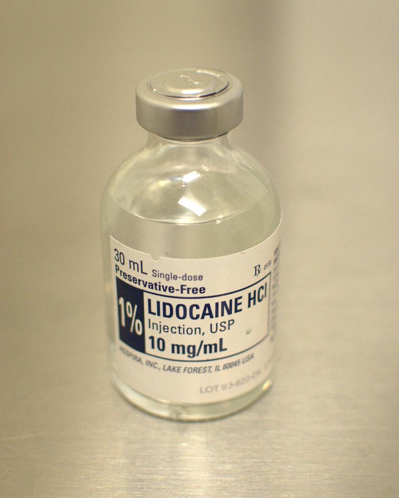 lidocaine hydrochloride xylocaine