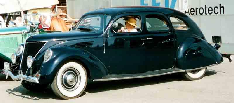 1936 Lincoln Zephyr Antique Car Magazine