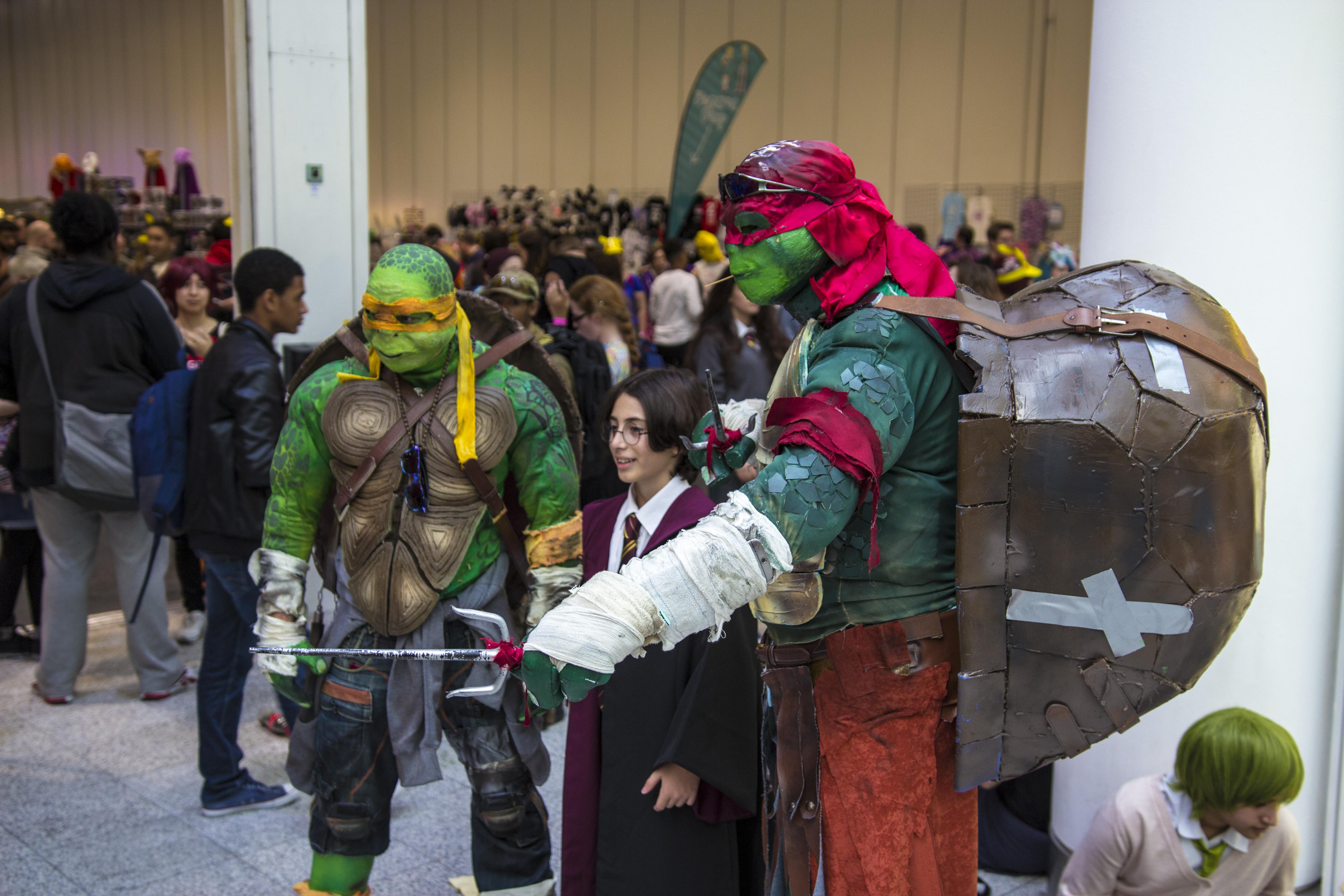 File London Comic Con Oct 14 Teenage Mutant Ninja Turtles