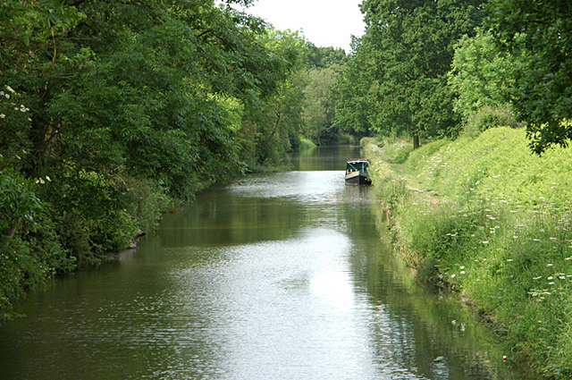 Looking south from Bridge No 67 - geograph.org.uk - 1346709