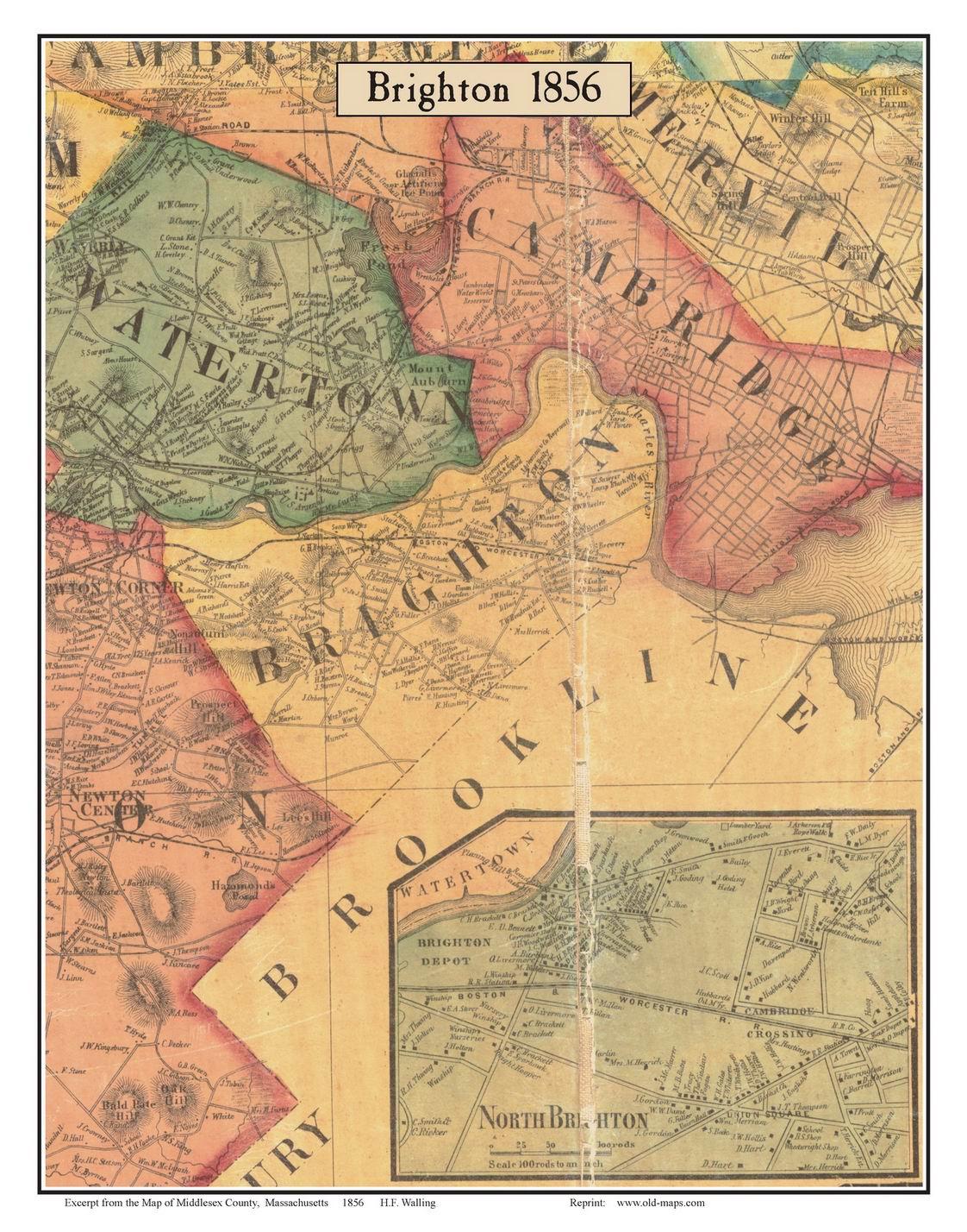 FileMap of Brighton 1856jpg Wikimedia Commons