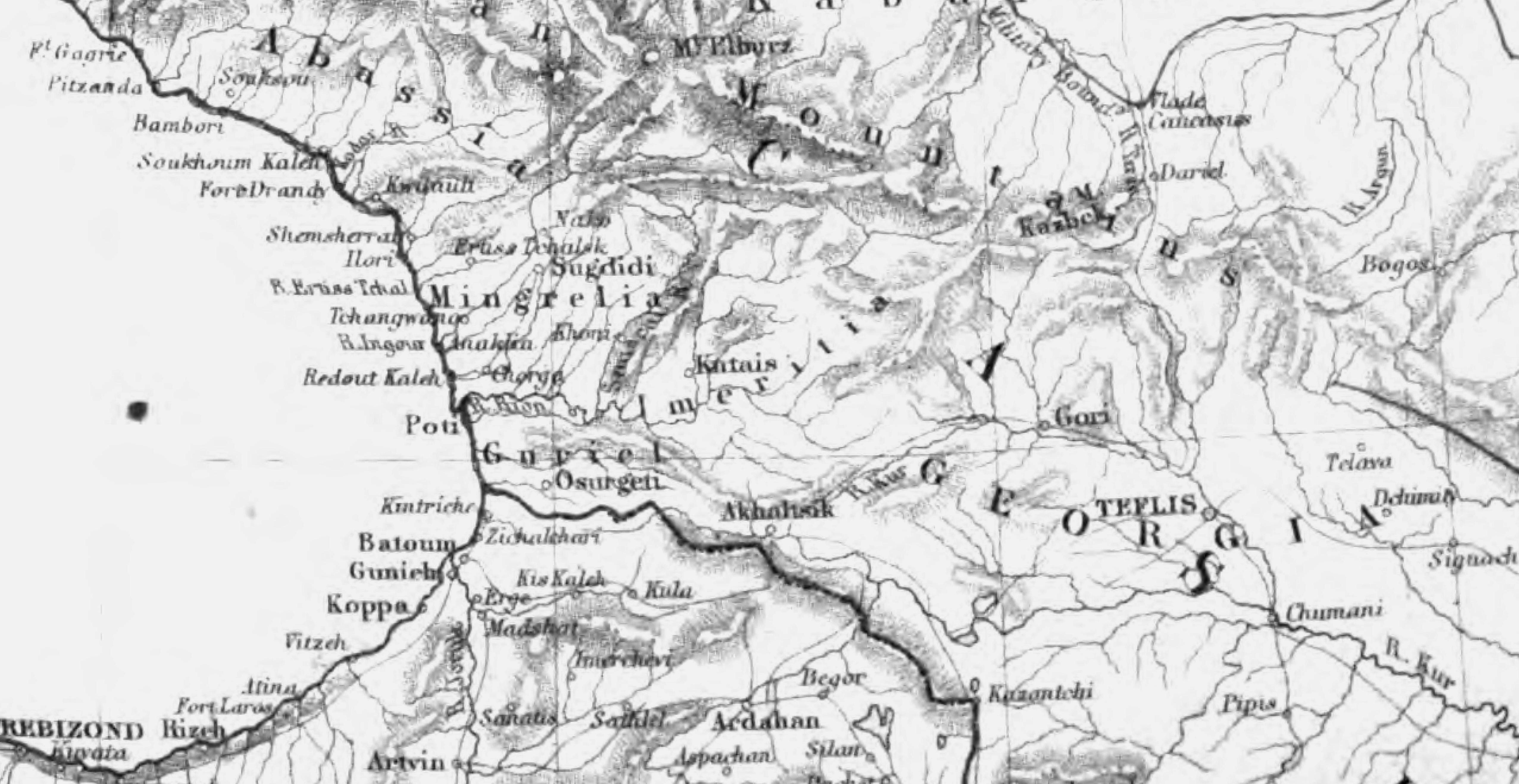 File:Map of The Caucasus.Georgia. George Dodd. Pictorial history of the Russian war 1854-5-6.jpg