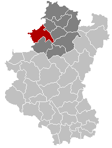 Marche-en-Famenne Luxembourg Belgium Map.png
