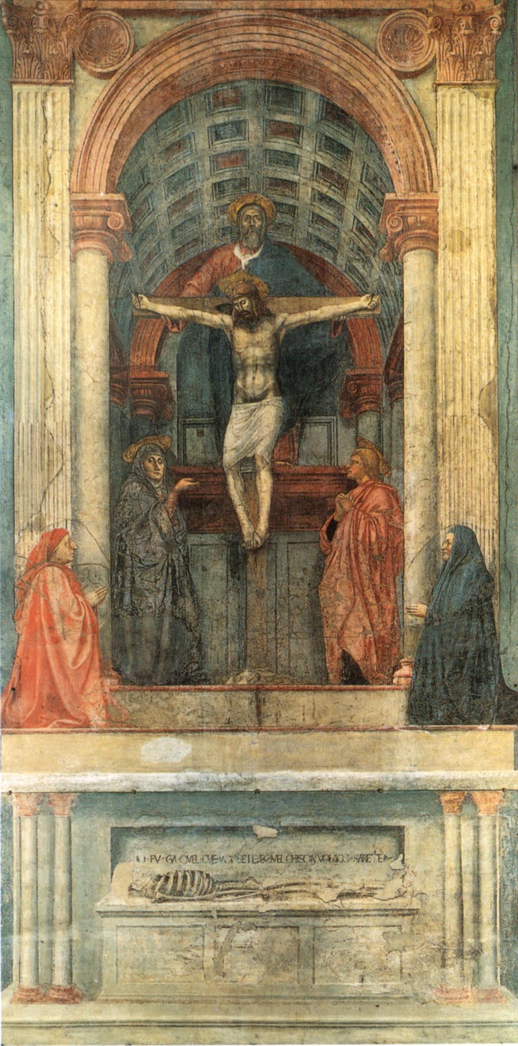 Masaccio, Trinity