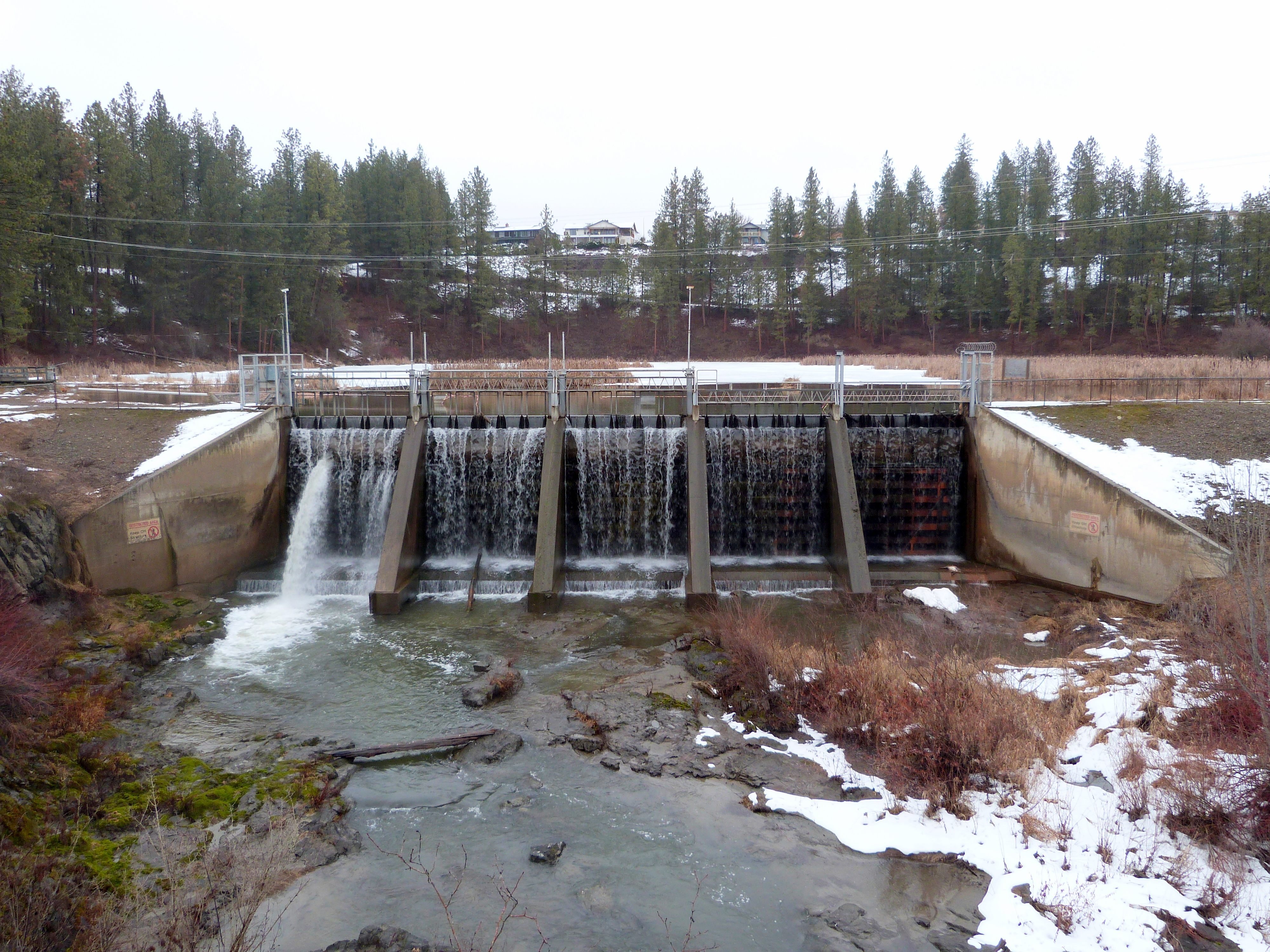 Kettle Falls Washington ~ File meyers falls dam kettle washington g