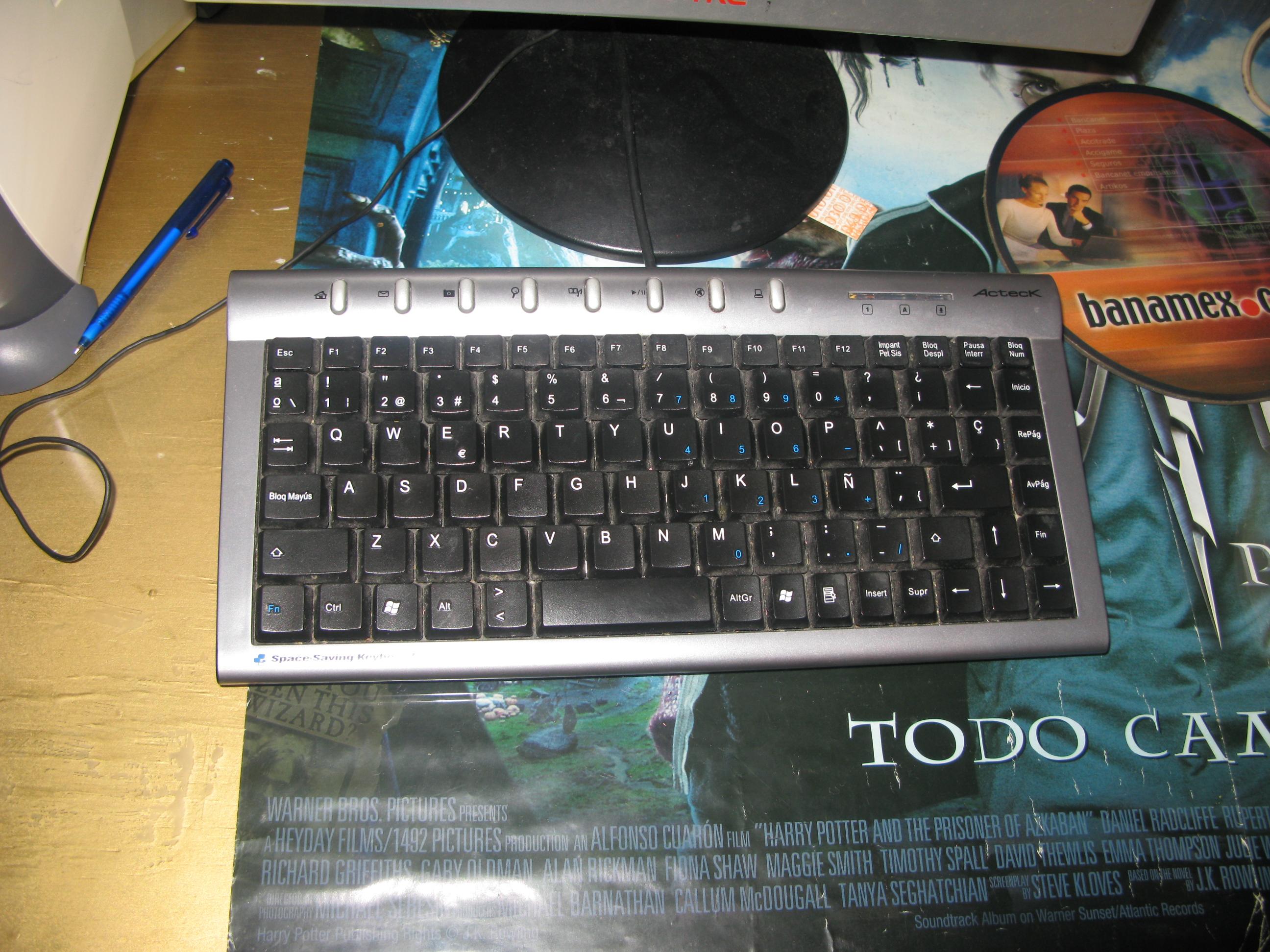 driver teclado canada 210