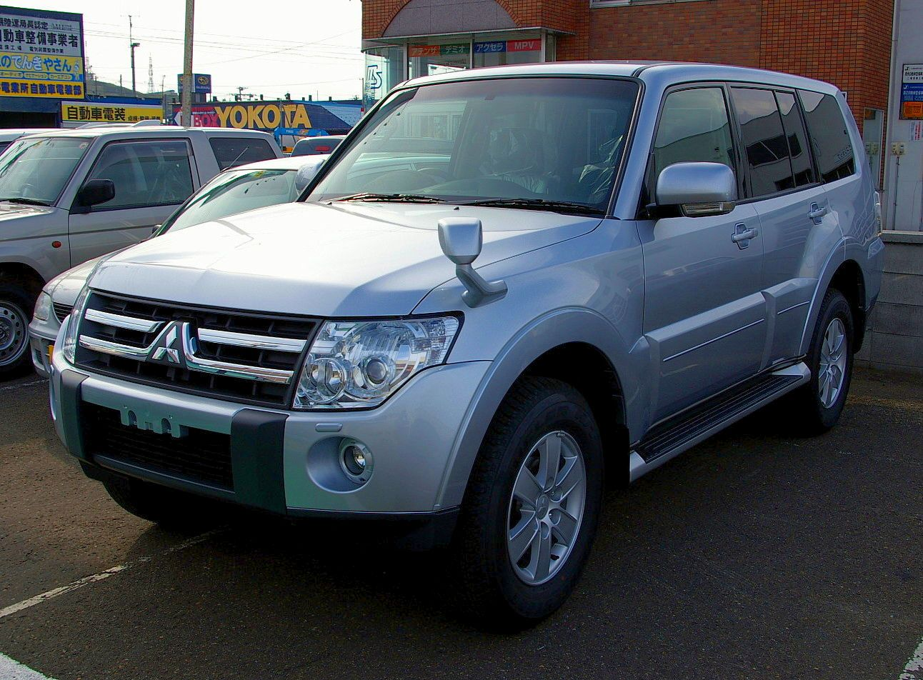 File:Mitsubishi Pajero 4th.JPG - Wikipedia, the free encyclopedia