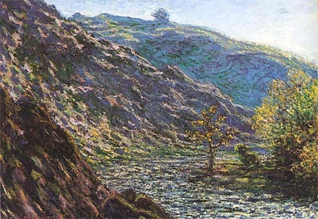 Monet The Petite Creuse River