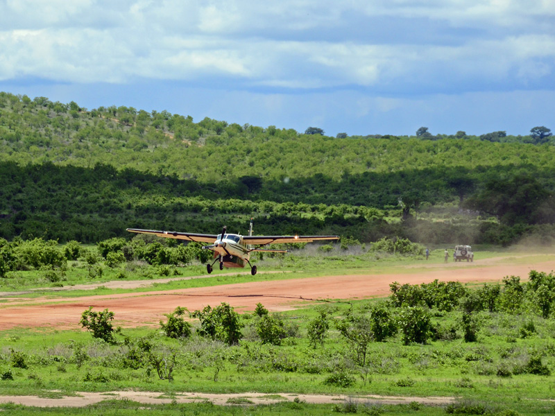 Airstrip in Africa