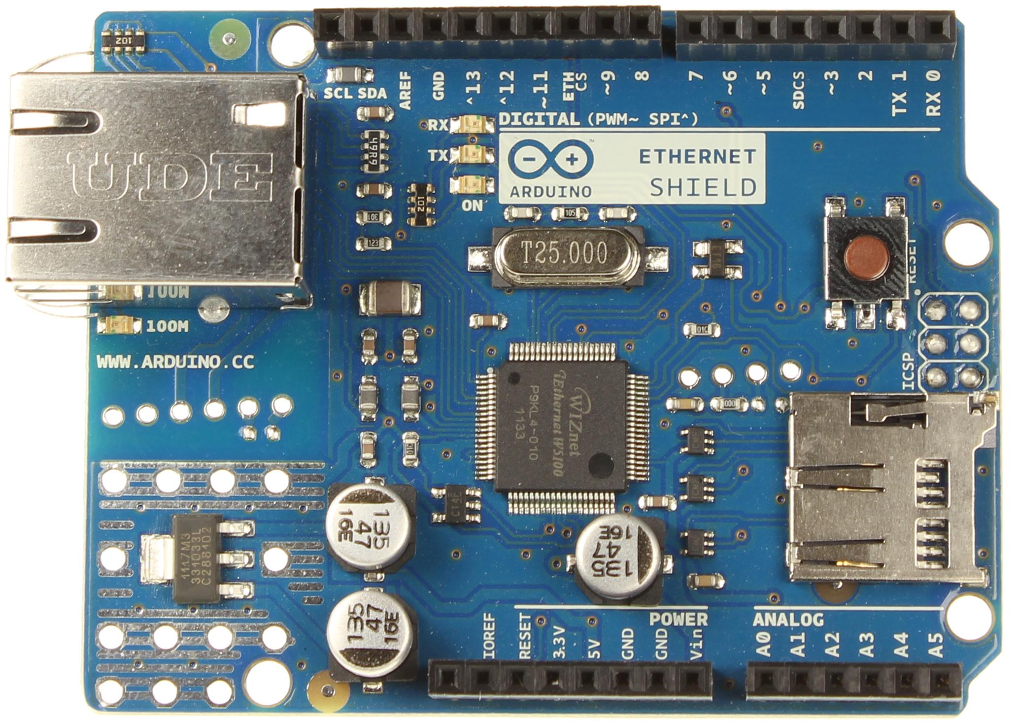 ArdinoDay-Shield Ethernet