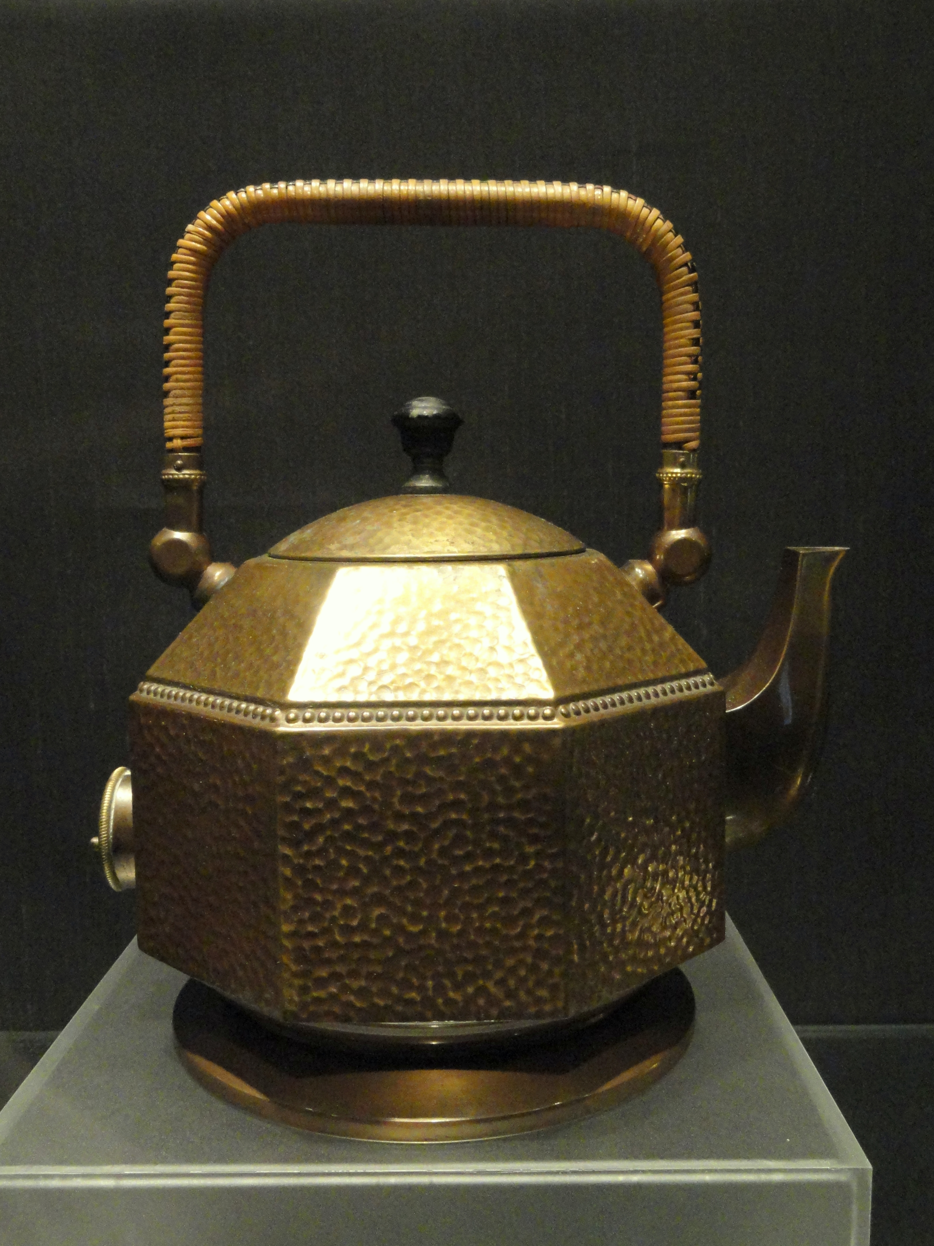 Electric Kettle Made In Germany ~ File octagonal electric kettle designed by peter behrens