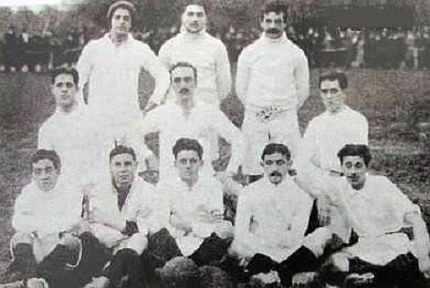 The team of 1911 - Olympique de Marseille