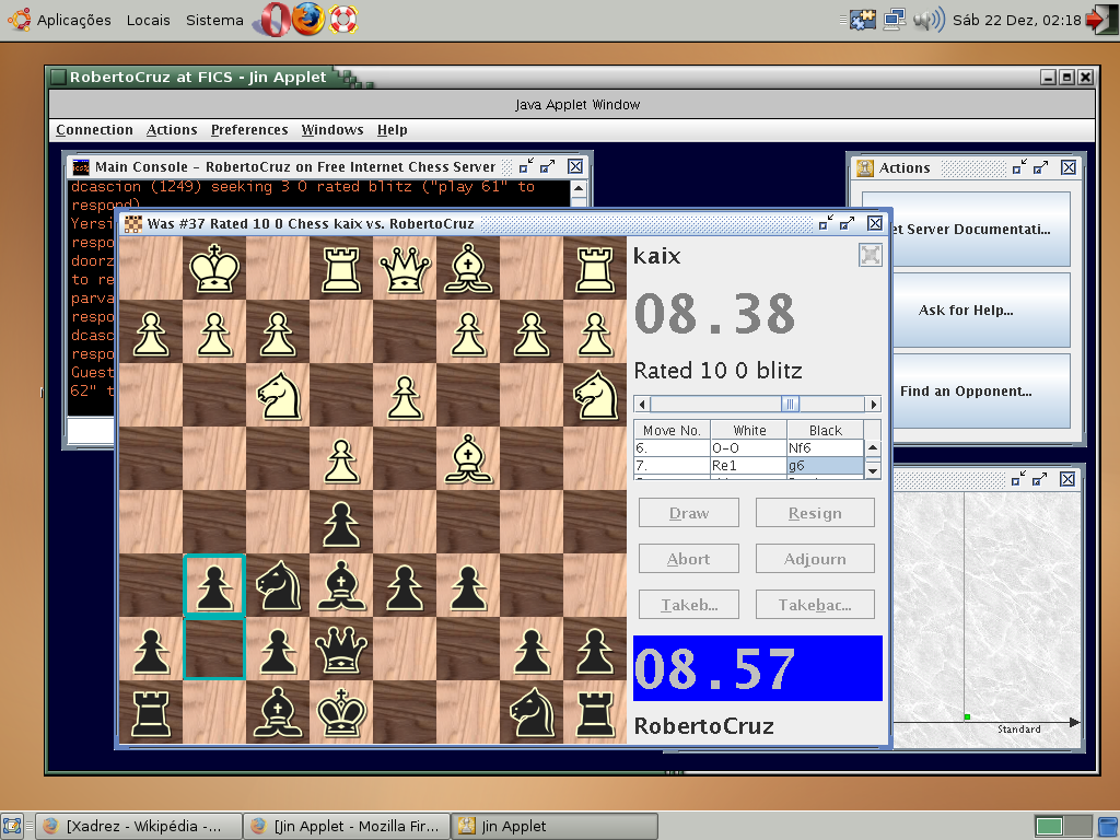 Free Internet Chess Server Wikipedia