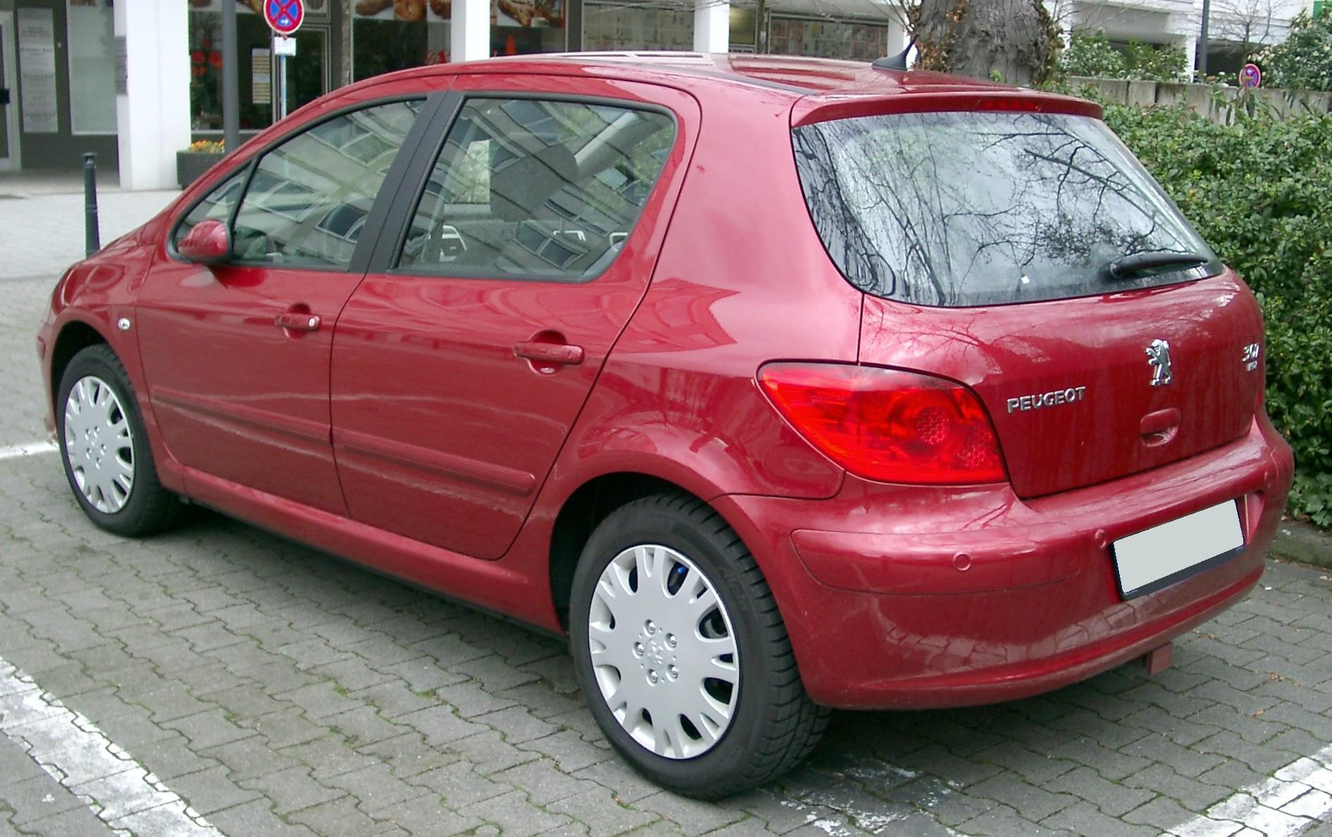 Fichier Peugeot 307 Rear 20080320 Jpg Wikip 233 Dia