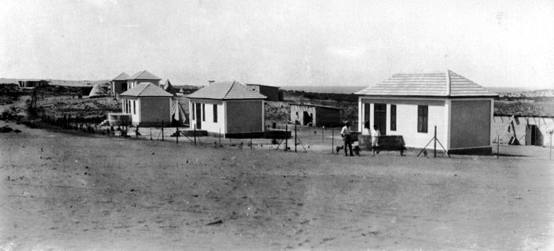 הבתים הראשונים של נתניה