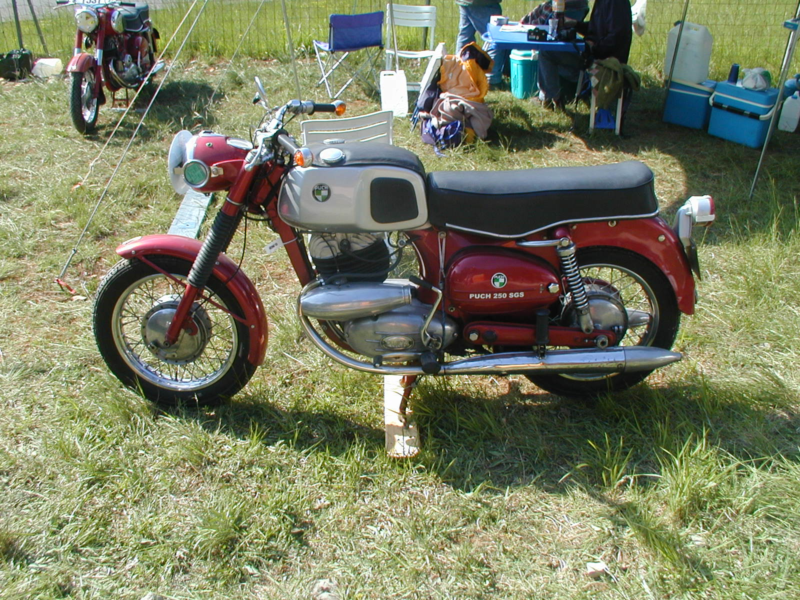 Daimler Puch Motorcycle Puch Motorcycle Marketed as