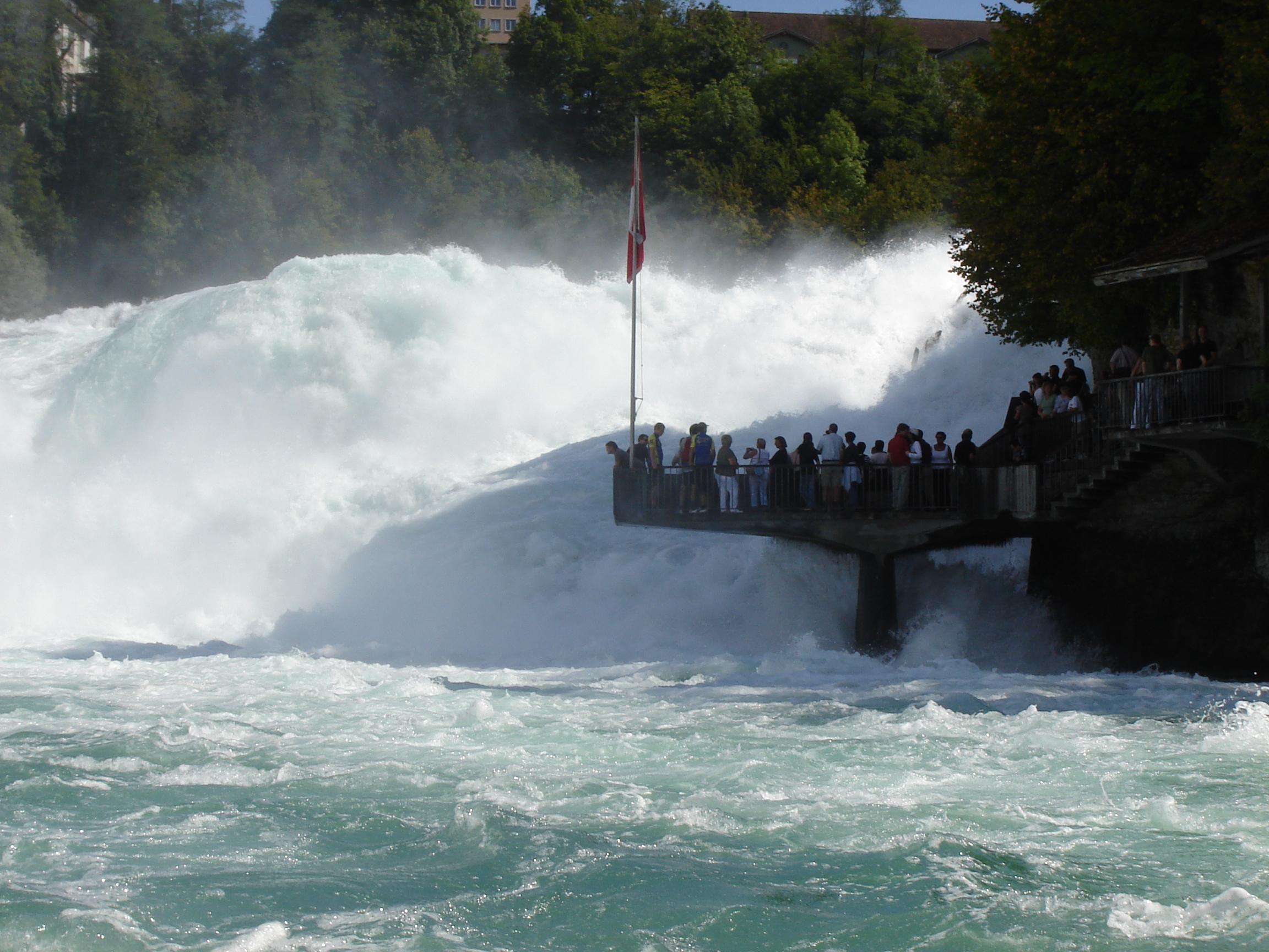 Rheinfall, größter Wasserfall Europas