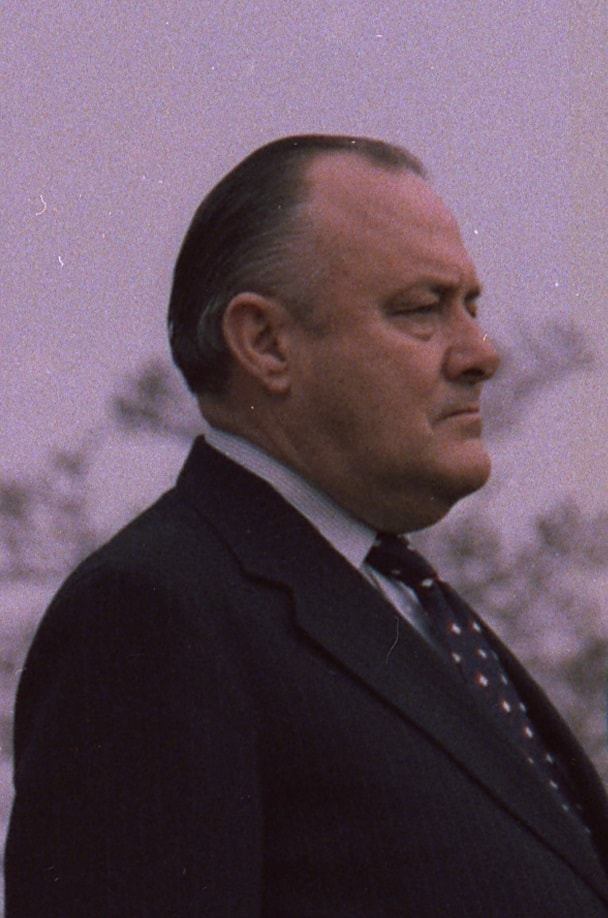 Sir Robert Muldoon, Prime Minister 1975 - 1984.