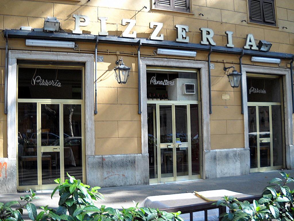 Tavolini Di Marmo Trastevere : File roma trastevere pizzeria panattoni g wikimedia commons