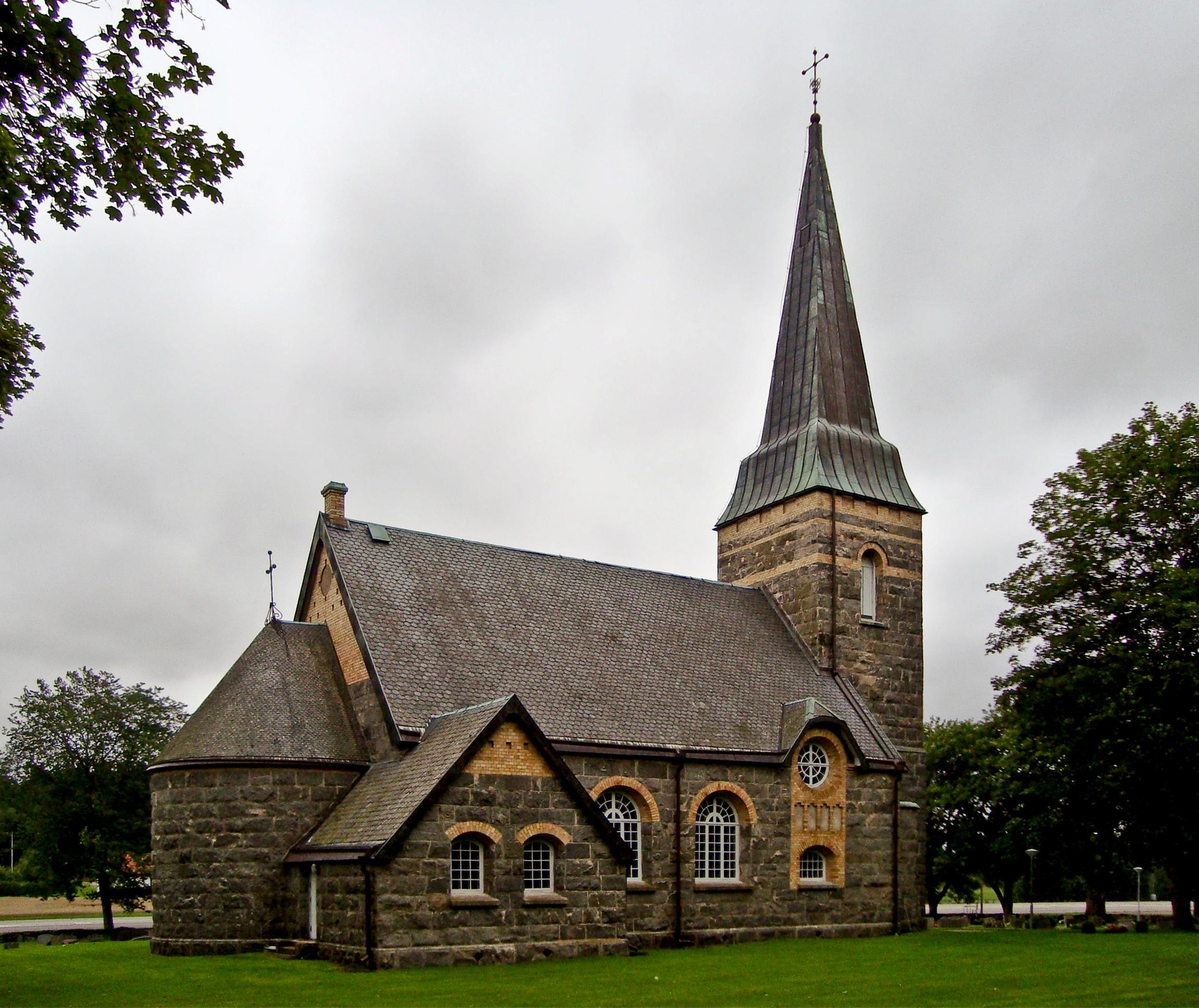 Bild av Södra Härene kyrka