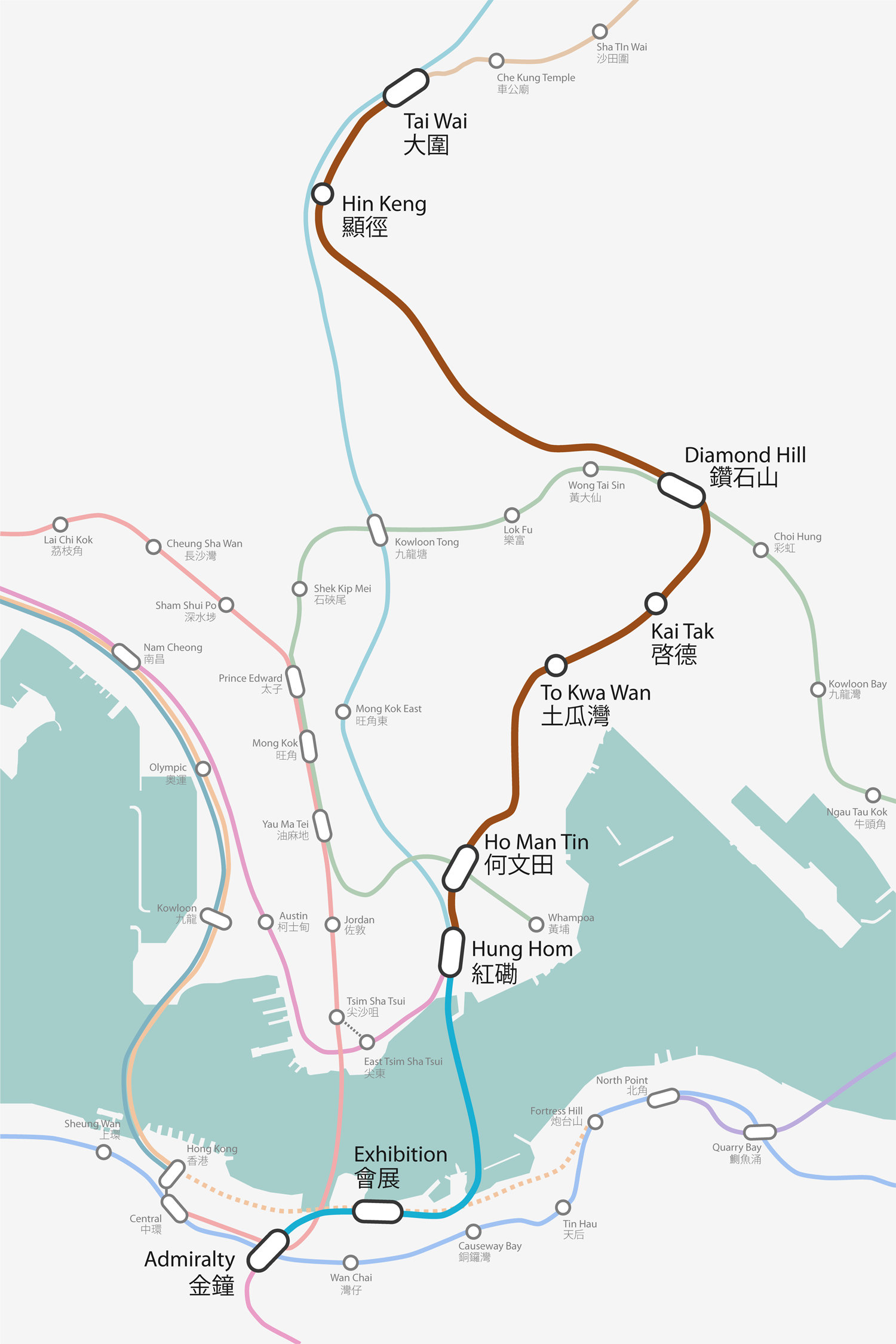 Sha Tin to Central Link | Wiki | Everipedia