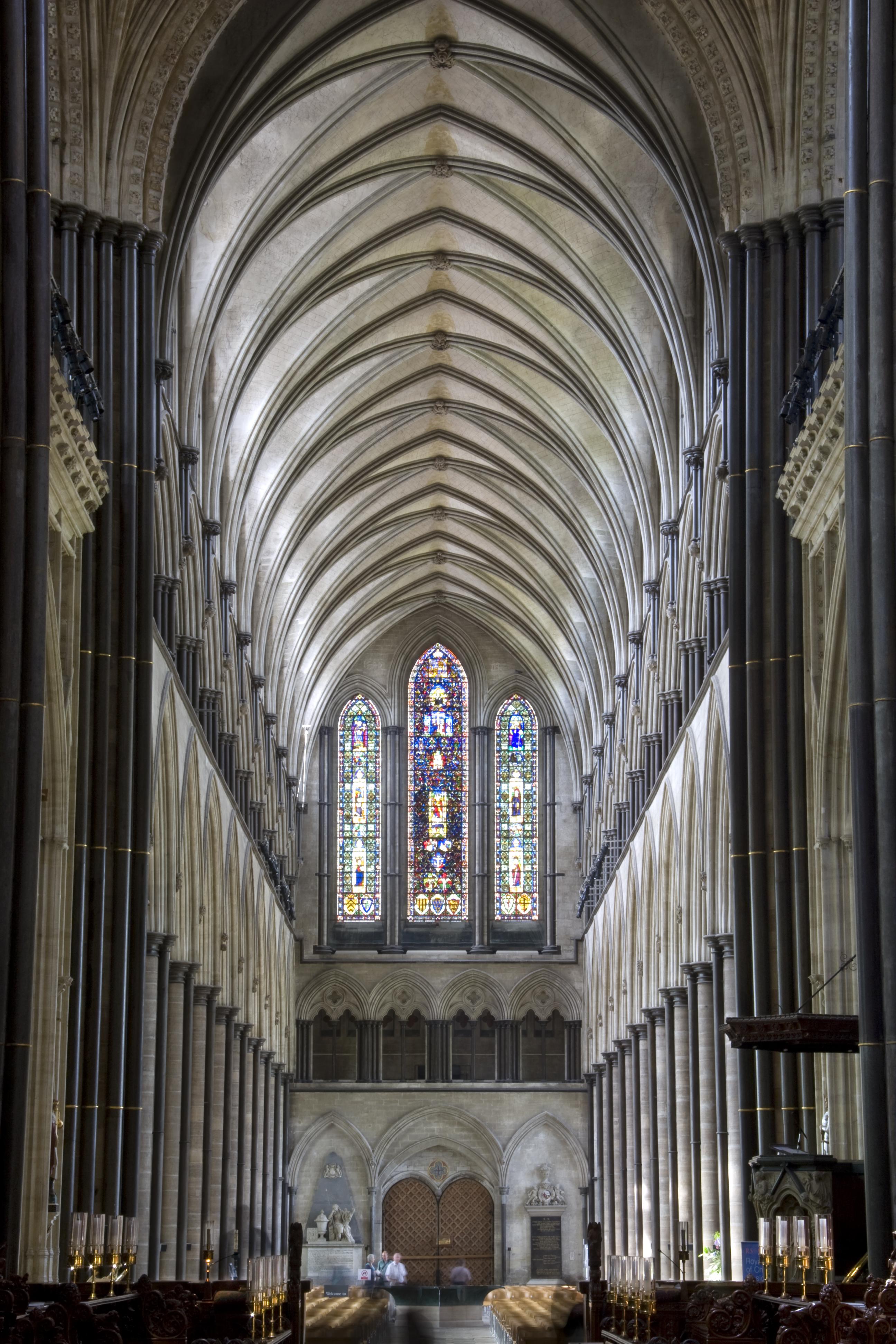 File:Salisbury Cathedral Nave looking west.jpg - Wikipedia