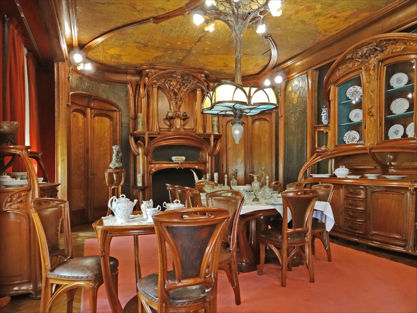 fichier salle manger art nouveau mus e de lecole de nancy 8029194773 jpg wikip dia. Black Bedroom Furniture Sets. Home Design Ideas