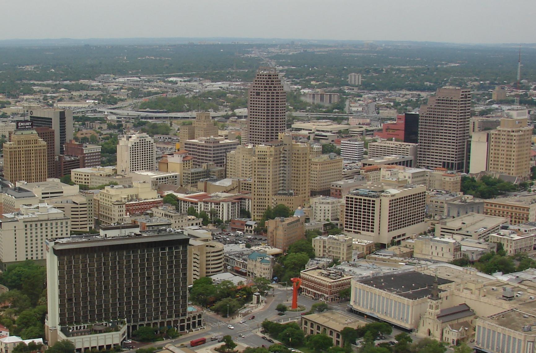 File San Antonio Downtown Jpg Wikimedia Commons